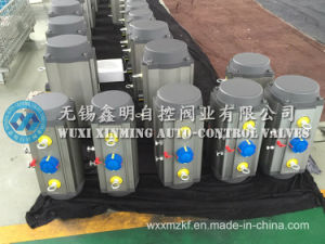 Double Acting Rack & Pinion Pneumatic Cylinder pictures & photos