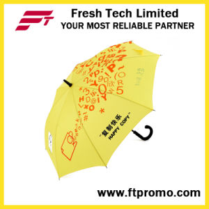 23 Inches Auto Open Straight Umbrella for Custom pictures & photos