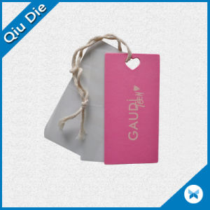 Printed Cardboard Garment Accessories with String pictures & photos