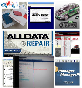Alldata 2015 Version All Data V10.53 R and Mitchell Car Repair Data Software with 1tb HDD Hard Disk