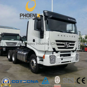 6*4 430HP Flat Roof C100 Cabin Hongyan Iveco Tractor Truck pictures & photos