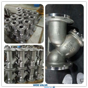 CF8/Ss304 Y Type Strainer pictures & photos