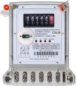 Two Phase Three Wire Electricity Meter for Ecuador pictures & photos