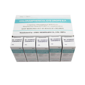 0.5%, 10ml Chloramphenicol Eye Drop GMP Medicine pictures & photos