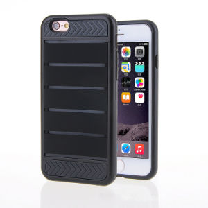 Elastin Slot Lever Bar 3 in 1 Silicone+TPU+PC Hard Mobile Back Cover Shell Protector Shockproof (XSEH-017) pictures & photos