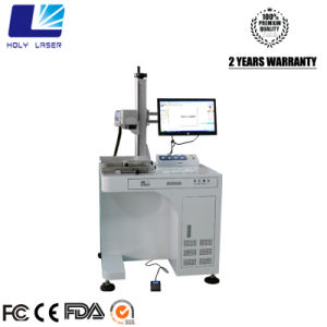 Fiber Laser Marking Machine for PVC/ Plastic/ Stainless Steel/ Silicon pictures & photos