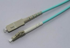 LC/UPC-SC/UPC-OM3 50/125-Sx-3.0mm Fiber Cable