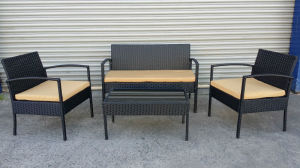 New Design Secure Terrace Furniture Rattan pictures & photos