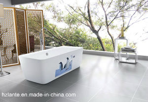Rectangle Acrylic Bulit -in Bathtub (LT-3P) pictures & photos