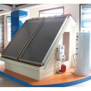 Pressurized Flat Plate Split Solar Water Heater 100L-500L pictures & photos