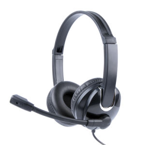 Top Sales USB Wired Headset for Computer PC (RH-U41-011) pictures & photos