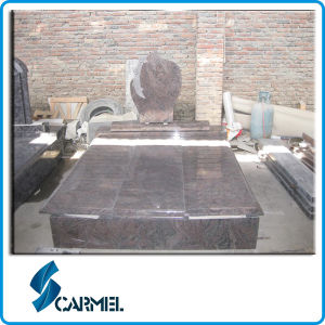 Red Granite Tombstone for Middle Market