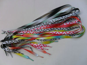 Camo Colourful Shoelaces Shoelace Manufactures pictures & photos