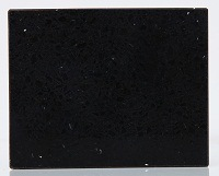 Anti-Scratch Stains Free Black Galaxy Quartz Countertop pictures & photos