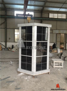 G603 Grey & Shanxi Black Door Granite Columbarium for Cemetery pictures & photos