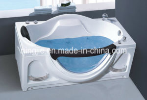 Acrylic Hydromassage Glass Massage Bathtub (Nj-3032) pictures & photos