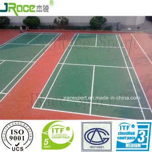 Synthetic Comfortable Spu Sports Outdoor PP Badminton Court pictures & photos