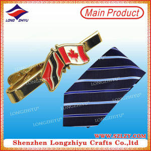 Fashion Cheap Custom Logo Nation Flag Necktie Pin Metal Tie Clip pictures & photos