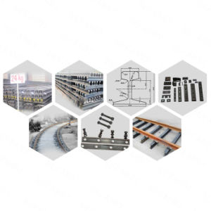 China Supplier Light Railway Steel Rail Track for industry Use pictures & photos