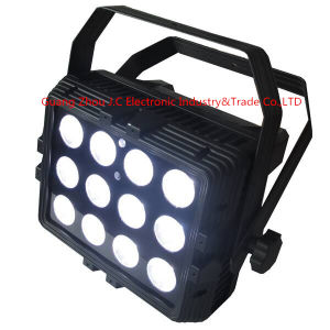 12PCS 15W RGB 3in1 LED Waterproof/Outdoor PAR Light with Flicker pictures & photos