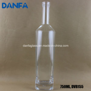 750ml Extra White Glass Liquor Bottle with Bartop pictures & photos