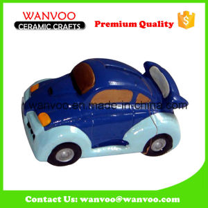 Ceramic Car Design Home Decoration for Coin Bank pictures & photos