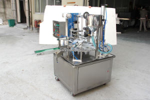 Automatic Rotary Type Plastic Coffee Capsule Filling Machine pictures & photos