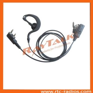 Walkie Talkie 2 Wire Earhook Earpiece for Kenwood 2 Pin Radios NX320/NX240 pictures & photos