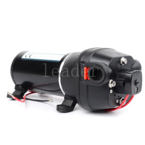Self-Priming Diaphragm Pump 12V DC Booster Pump Large Flow of Household Yacht Yacht Pump / RV Pump pictures & photos