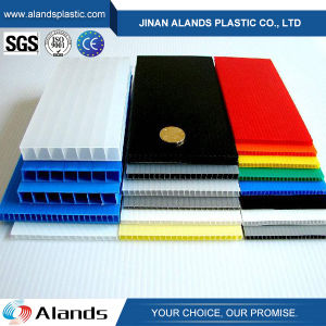 Colorful PP Corrugated Sheet Coroplast Plastic Sheets Board pictures & photos