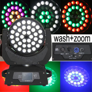 Ring Circle Effect 36*10W RGBW 4in1 LED Moving Head Light with Zoom Wash pictures & photos