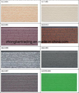 Decorative Embossing PU Sandwich Panel (ZL-DPS) pictures & photos