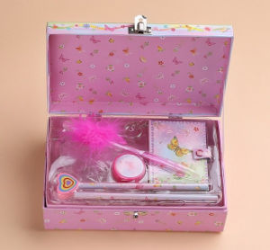 Fashion Printing Paper Suitcase for Stationery pictures & photos