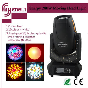 Disoo DJ Sharpy Moving Head Beam Stage Effect Light pictures & photos