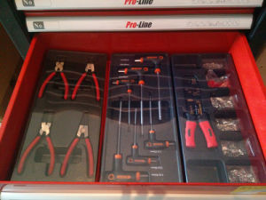 435PCS -6 Drawers Heavy Duty Tool Cabinet (FY435A) pictures & photos