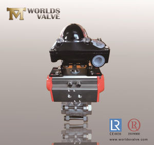 Stainless Steel Ball Valve with Position Indicator pictures & photos