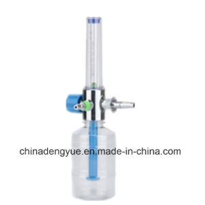 Oxygen Humidifier Bottles with Flowmeter Medical Equipment pictures & photos