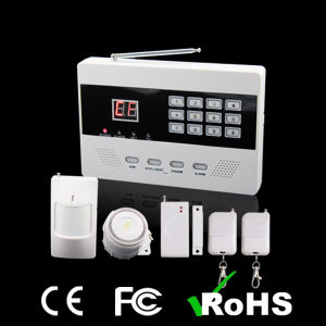 Cheap Wireless Intelligent PSTN Home Security Alarm System pictures & photos