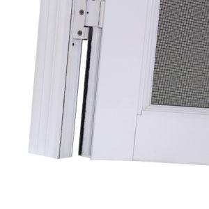 High Quality White Powder Coated Aluminium Casement Door, Mosquito Net Casement Door K06035 pictures & photos