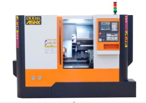 Tck45L Linear Guideway CNC Slant Bed Lathe Machine Tool pictures & photos