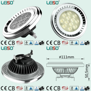 CE & RoHS 12.5W LED Spotlight Qr111g53 for Japan Nichia Chip pictures & photos