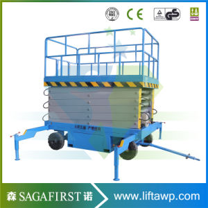 Height Extendable Platform Mobile Scissor Lift pictures & photos