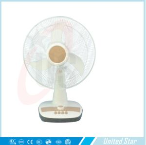 12′′solar Electric Table DC Fan (USDC-449) with CE/Rohs pictures & photos
