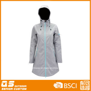Lady′s Softshell High Quality Customed Coat pictures & photos