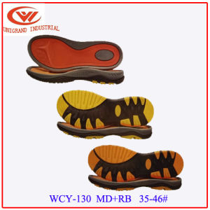 Unisex Sandals Sole Fashion EVA Rb Outsole for Making Casual Beach Sandals pictures & photos