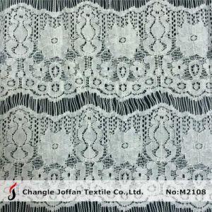 Eyelash Dress Lace Fabric Wholesale (M2108) pictures & photos