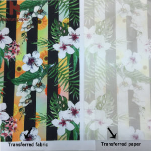 45GSM/60GSM Instant Dry Sublimation Heat Transfer Paper Supplier for Sublimation Fabric pictures & photos