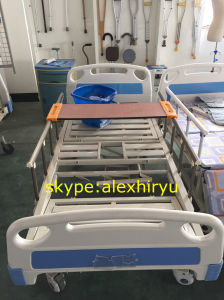 Cheap Three Crank Patient Bed/Manual Hospital Bed Prices pictures & photos