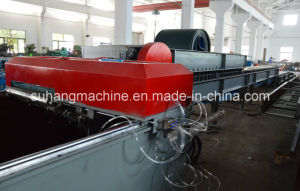 0.3 - 0.7mm Sheet Thickness 13 - 15 Stations Ceiling PU Sandwich Panel Production Machine pictures & photos