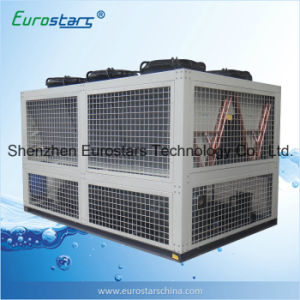 Semi-Hermetic Screw Type Compressor Industrial Low Temperature -10c Air Chiller pictures & photos
